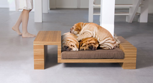 accessoires et mobiliers design pour chiens thefashiondog. Black Bedroom Furniture Sets. Home Design Ideas